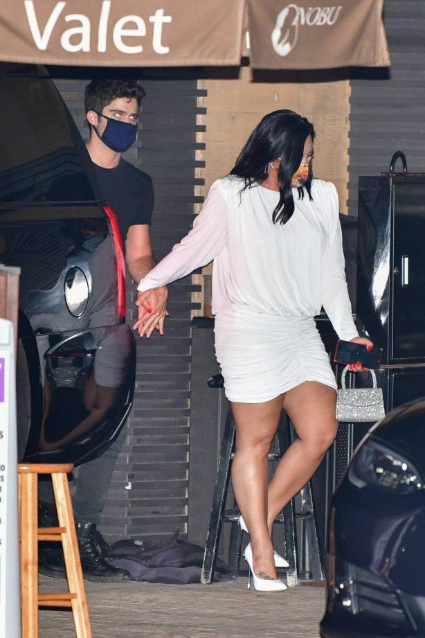 Demi Lovato - Got dinner date at Nobu in Malibu