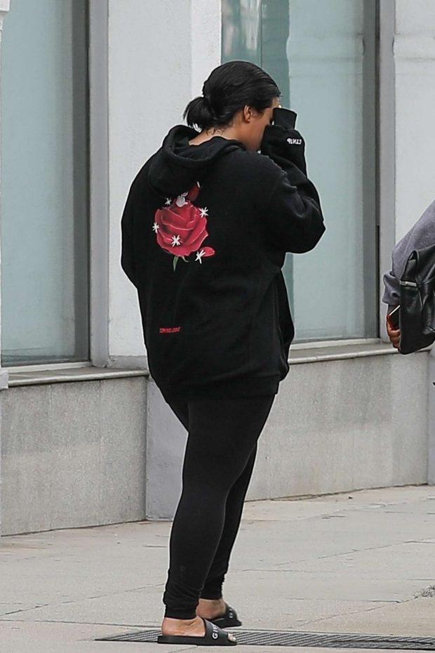 Demi Lovato 2019 : Demi Lovato: Heads to the Portofino Tanning Salon-06