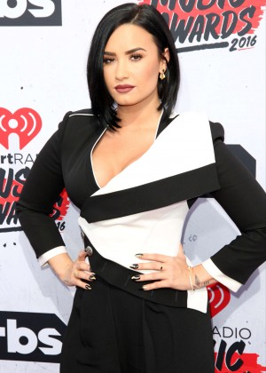Demi Lovato - iHeartRadio Music Awards 2016 in Los Angeles