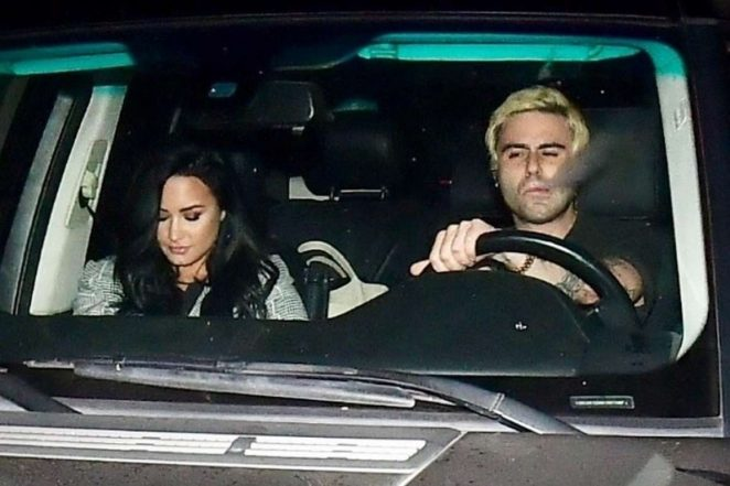 Demi Lovato: Leaving Matsuhisa Restaurant -03