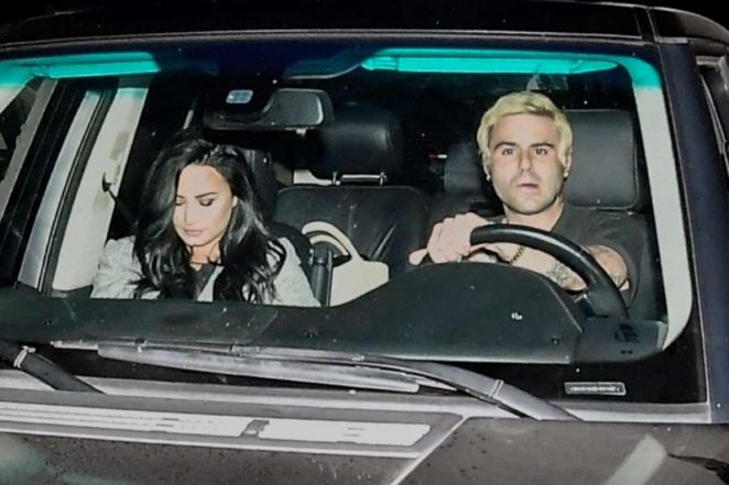 Demi Lovato: Leaving Matsuhisa Restaurant -04