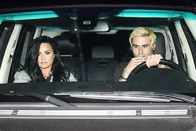 Demi Lovato: Leaving Matsuhisa Restaurant -07