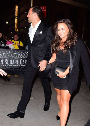 Demi Lovato night out in New York City