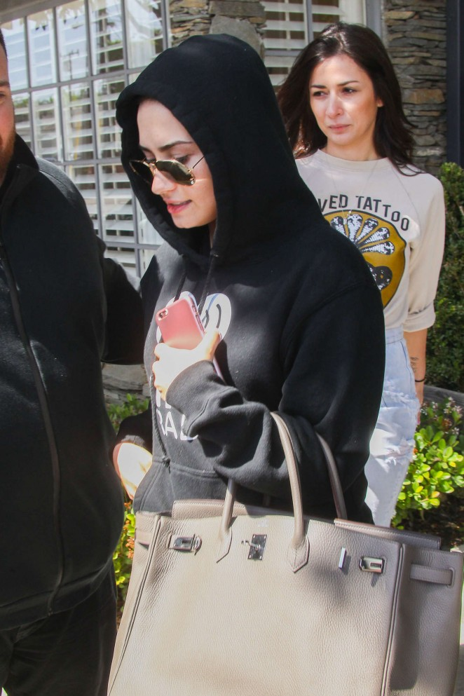 Demi Lovato out and about in LA
