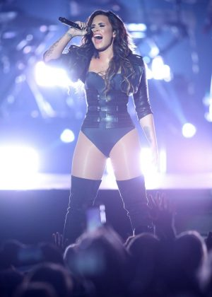 Demi Lovato - Performing at the Minnesota State Fair in St. Paul