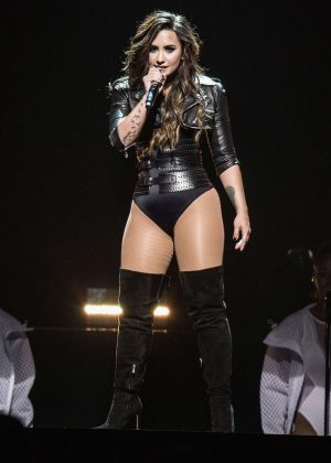 Demi Lovato - Performing in Inglewood