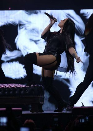Demi Lovato - Performing live at Prudential Center in Newark
