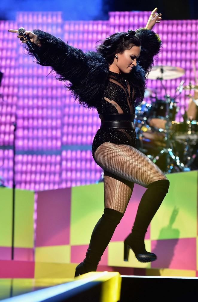Demi Lovato - Performs at 2015 iHeartRadio Music Festival in Las Vegas