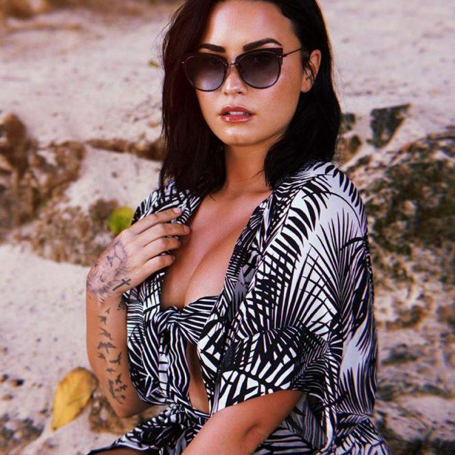 6306dce723 Demi Lovato  Photoshoot for DIFF Eyewear 2018 -14 – GotCeleb