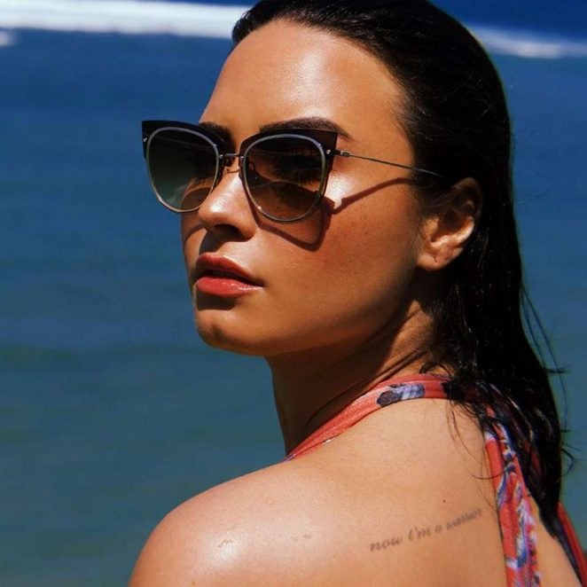 8f388cfb2e Demi Lovato  Photoshoot for DIFF Eyewear 2018 -15 – GotCeleb