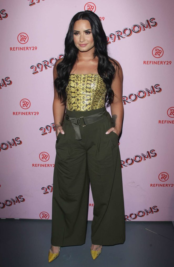 099a1ddb1e Demi Lovato  Refinery29 29Rooms Los Angeles  Turn It Into Art Opening Party  -25