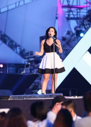Demi Lovato: Rehearsing for YAN Beatfest -07
