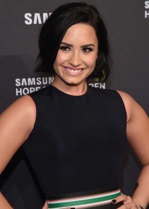 Demi Lovato - Samsung Hope for Children Gala 2015 in NYC