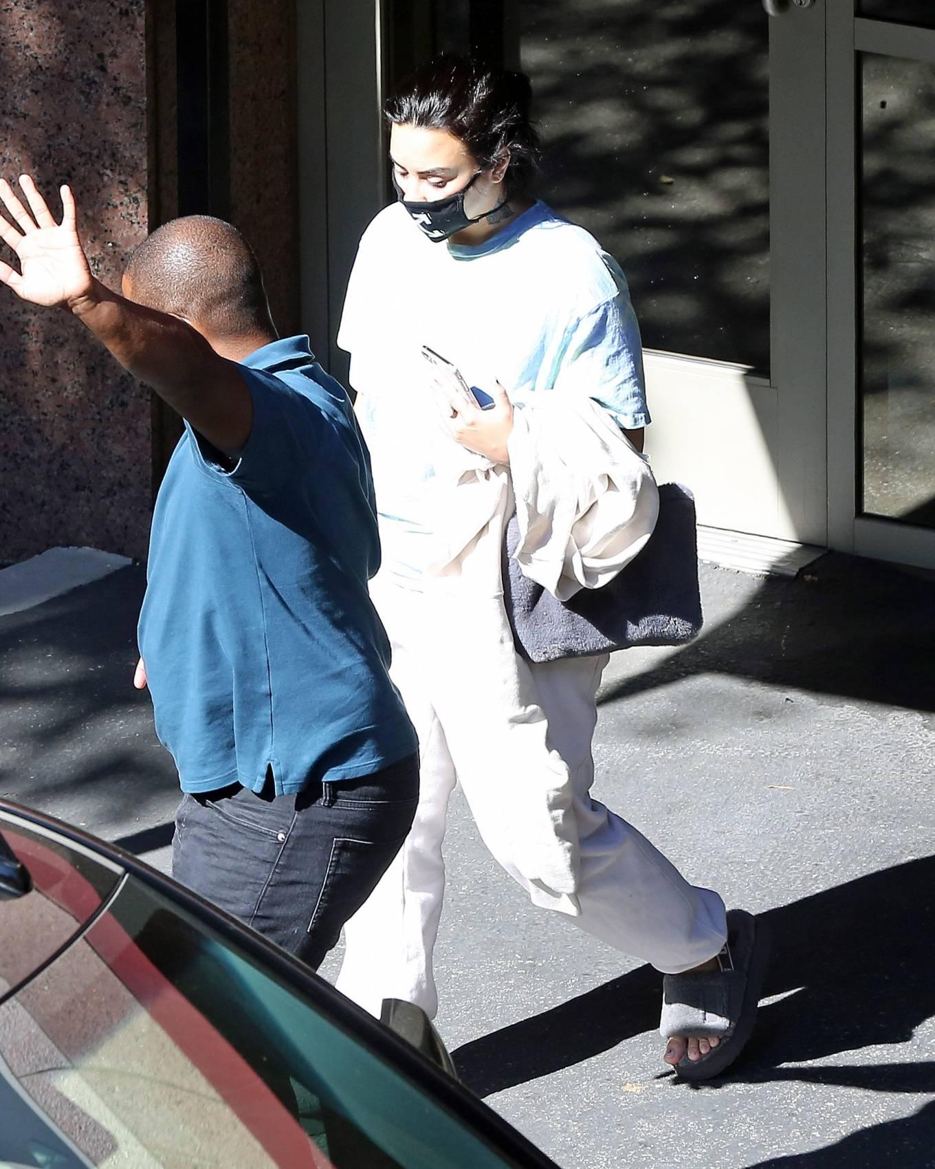 Demi Lovato 2020 : Demi Lovato – Seen while in Los Angeles-05