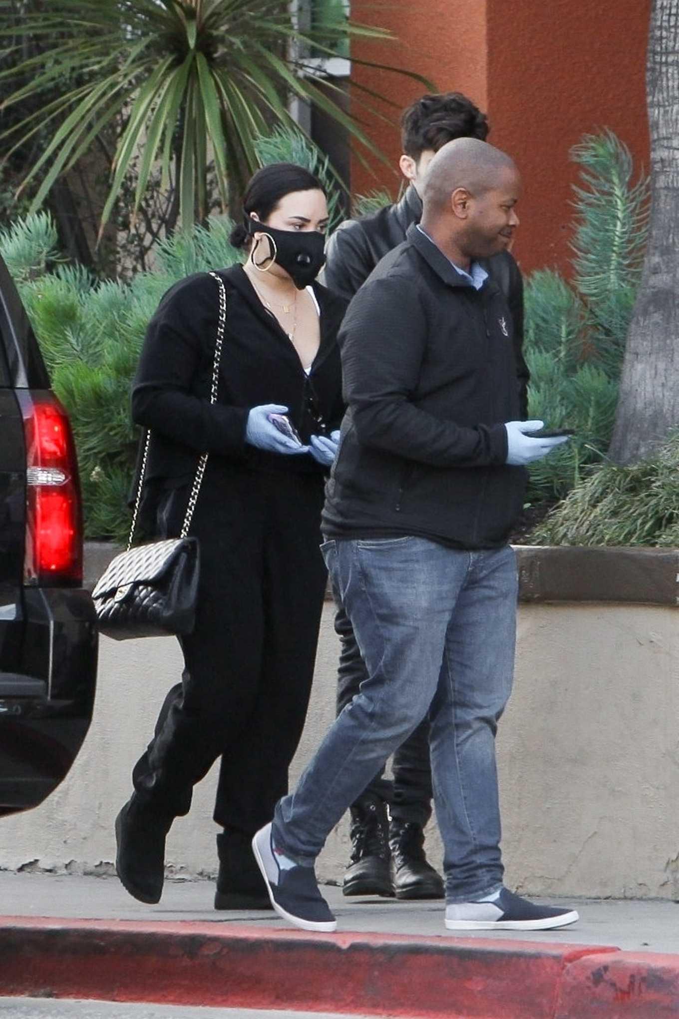 Demi Lovato 2020 : Demi Lovato – Shopping at Erewhon in Los Angeles-01