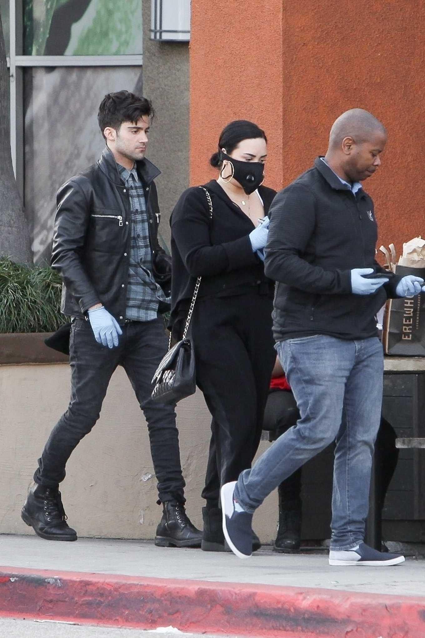 Demi Lovato 2020 : Demi Lovato – Shopping at Erewhon in Los Angeles-03