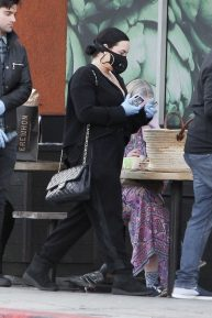 Demi Lovato - Shopping at Erewhon in Los Angeles