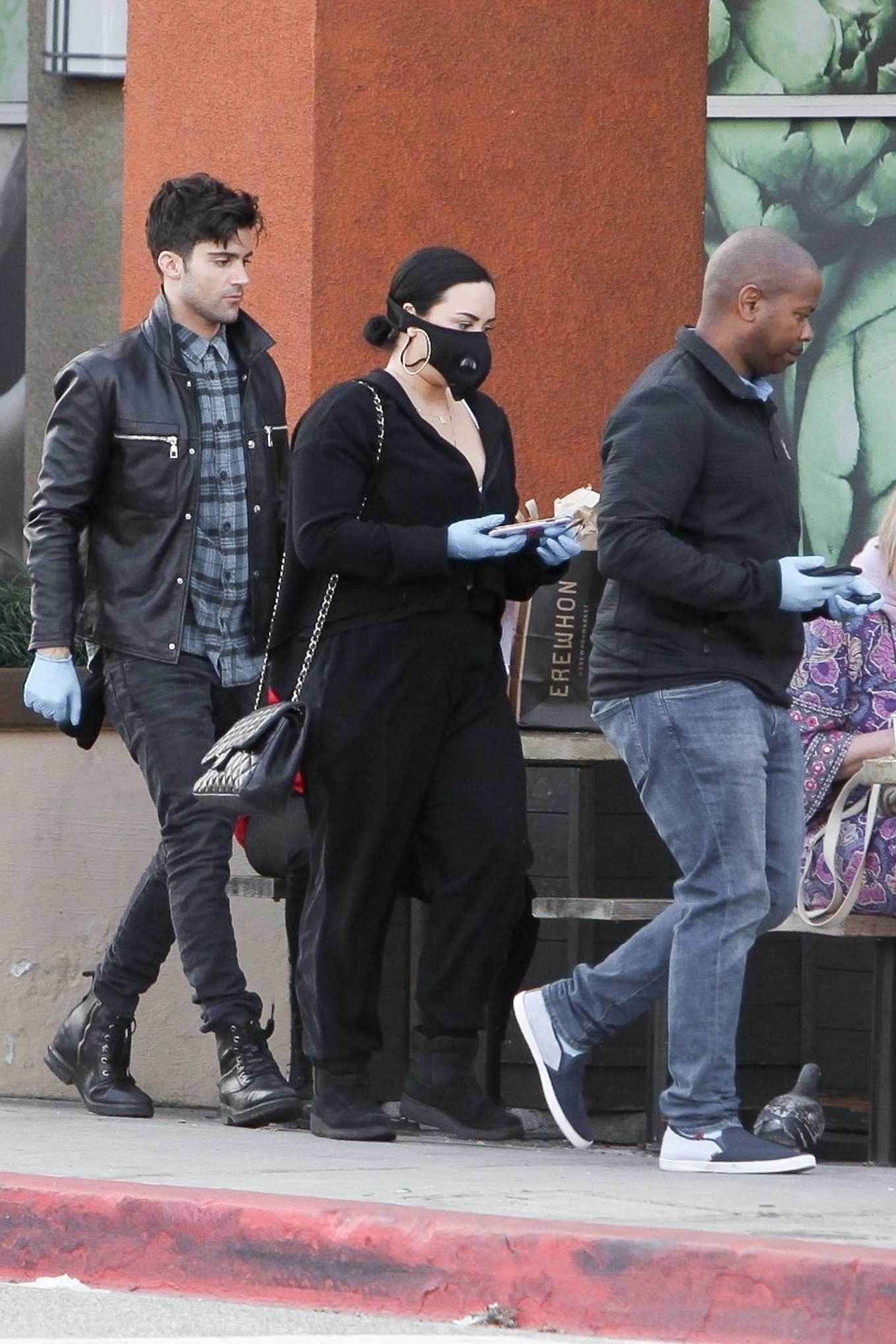 Demi Lovato 2020 : Demi Lovato – Shopping at Erewhon in Los Angeles-12
