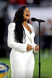 Demi Lovato - Sings the U.S. national anthem Super Bowl LIV in Miami