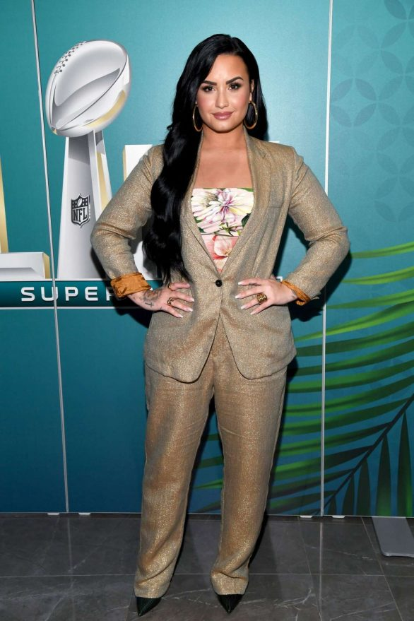 Demi Lovato - SiriusXM's Radio Andy Show in Miami