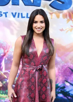 Demi Lovato - 'Smurfs: The Lost Village' Photocall in Los Angeles