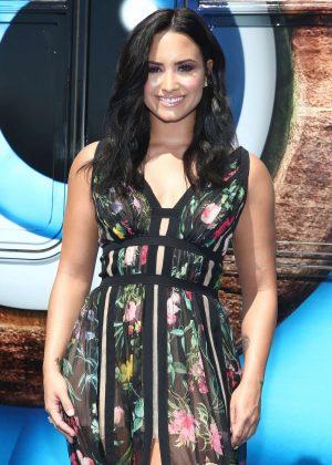 Demi Lovato - 'Smurfs: The Lost Village' Premiere in Los Angeles