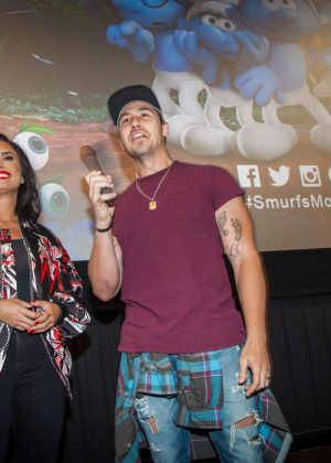 Demi Lovato - 'Smurfs The Lost Village' Screening in Dallas