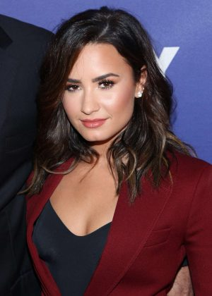Demi Lovato - Social Good Summit at 92Y in New York