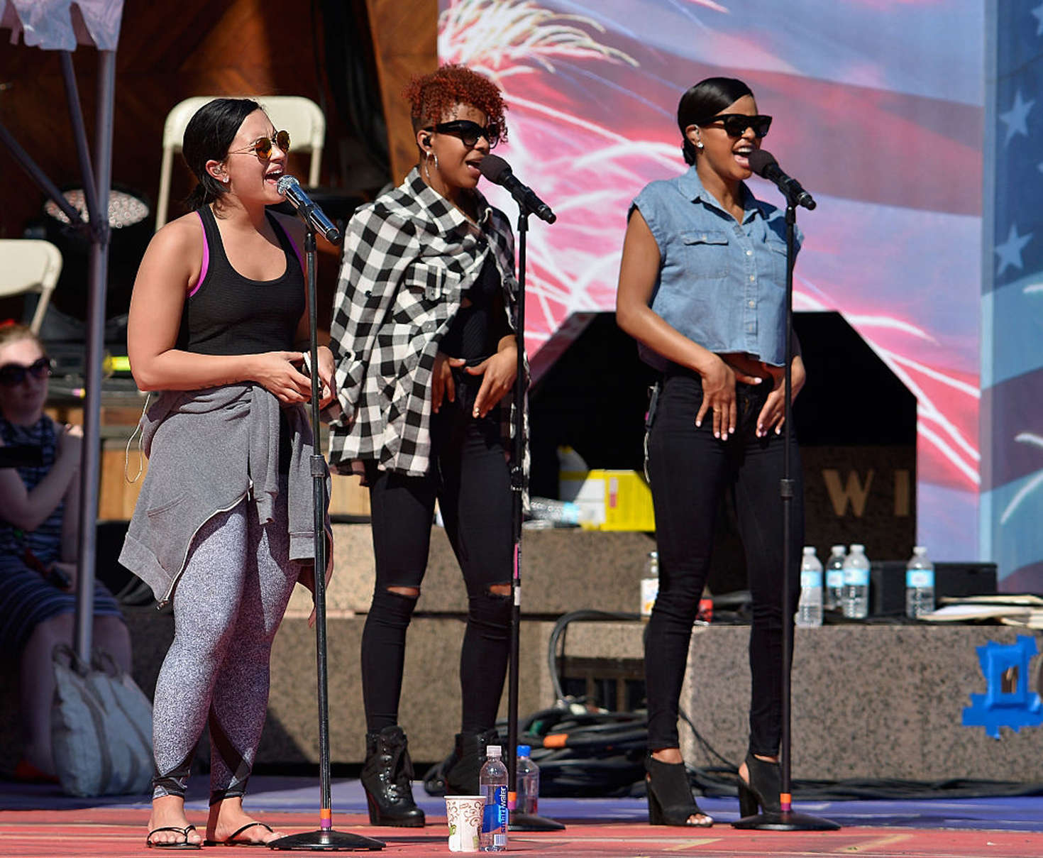 Demi Lovato Soundcheck At The Boston Pops Fireworks Spectacular Four Full Size