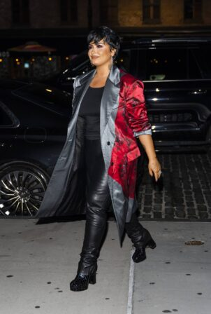 Demi Lovato - Stepping Out in New York City