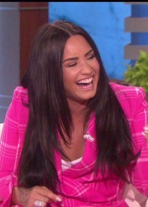 Demi Lovato -The Ellen DeGeneres Show in Los Angeles
