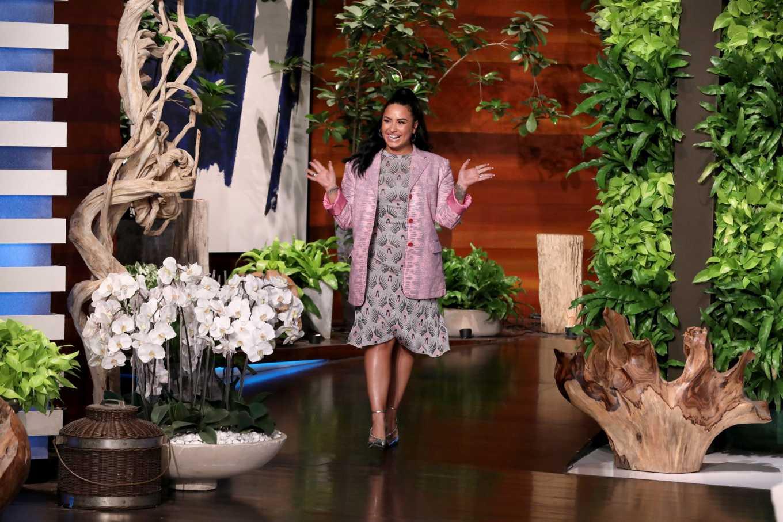 Demi Lovato 2020 : Demi Lovato – The Ellen Degeneres Show-02