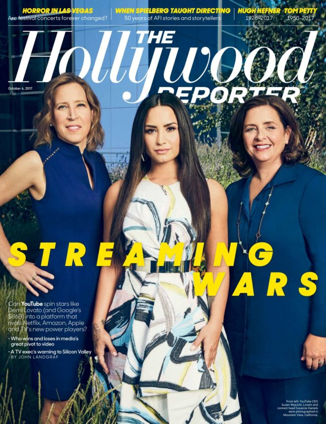 Demi Lovato - The Hollywood Reporter (October 2017)