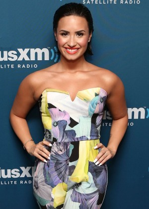 Demi Lovato - 'The Morning Mash Up' on SiriusXM Hits 1 in NYC