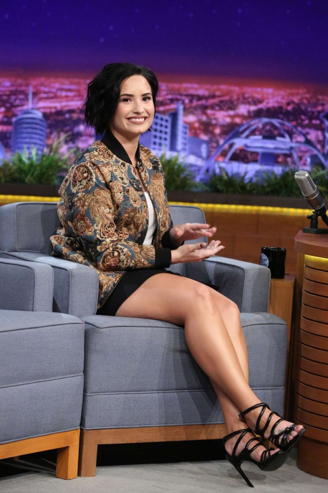Demi Lovato – 'The Tonight Show Starring Jimmy Fallon' in NYC