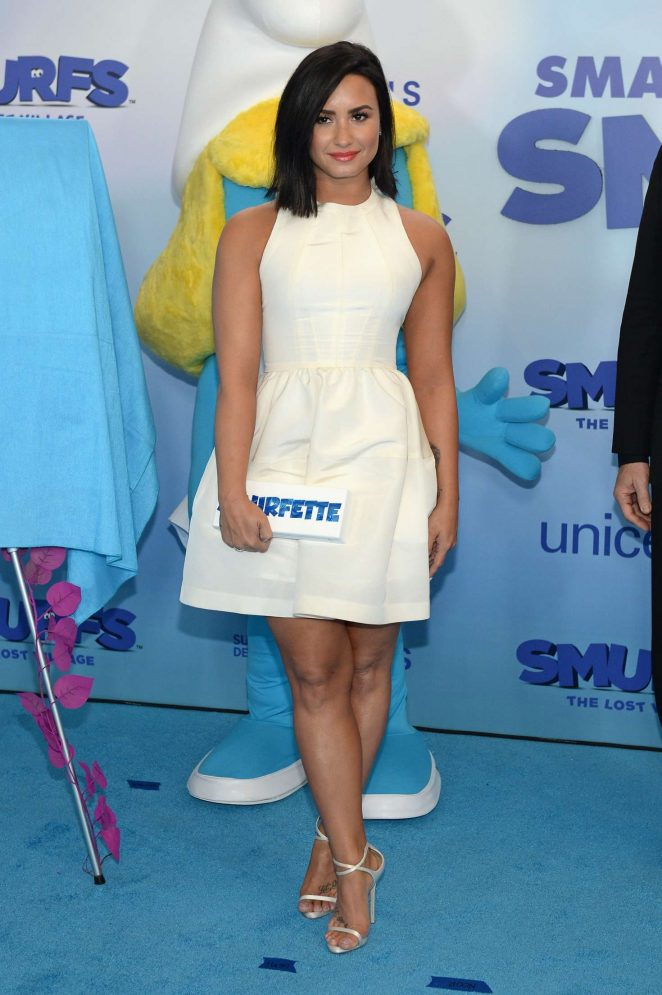 Demi Lovato - UN And Smurfs: The Lost Village Celebrate International Day Of Happiness in NYC