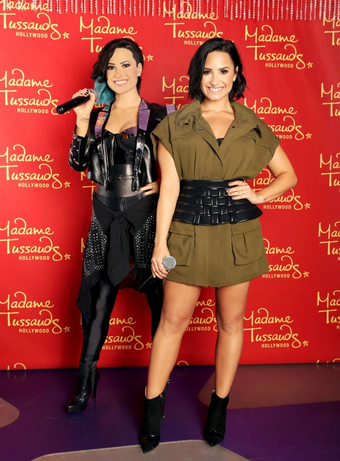 Demi Lovato – Wax figure at Madame Tussauds
