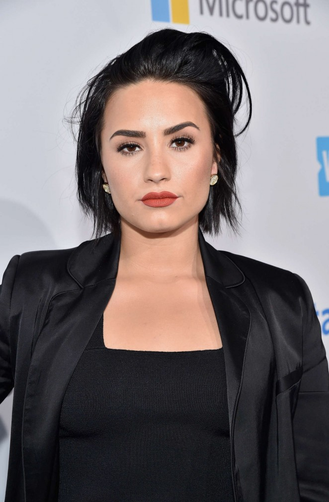 Demi Lovato - WeDay California at The Forum in Inglewood