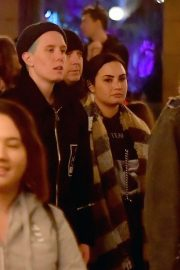 Demi Lovato with Austin Wilson at Disneyland