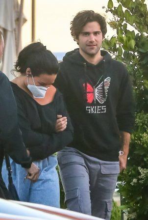 Demi Lovato - With her boyfriend out in Malibu