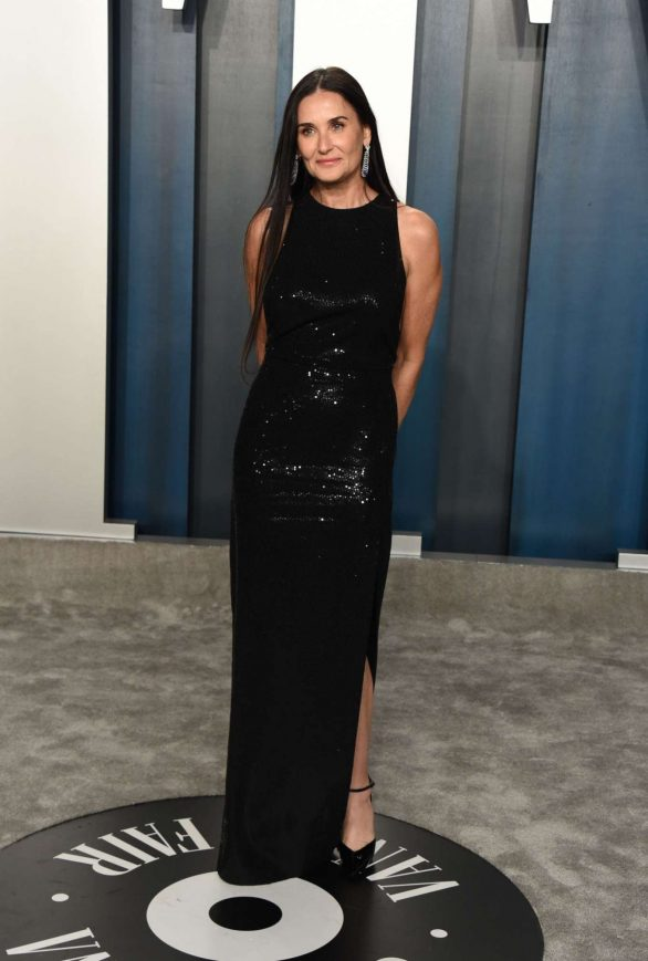Demi Moore - 2020 Vanity Fair Oscar Party in Beverly Hills