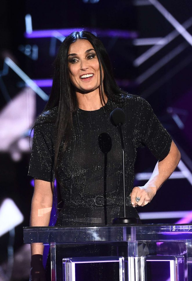 Demi Moore - Comedy Central Roast of Bruce Willis in LA