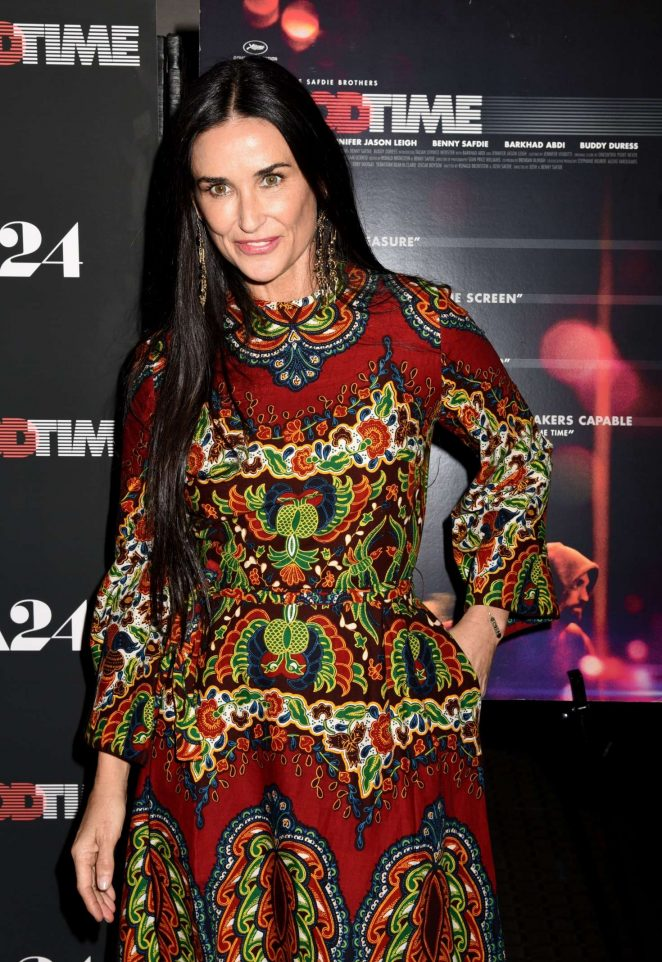 Demi Moore - 'Good Time' Premiere in NYC