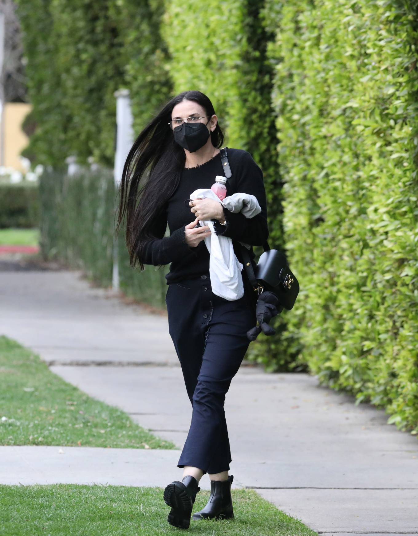 Demi Moore - Is seen leaving pilates class in Los Angeles
