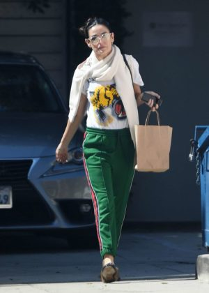 Demi Moore Leaving Love Your Body Endermologie in West Hollywood