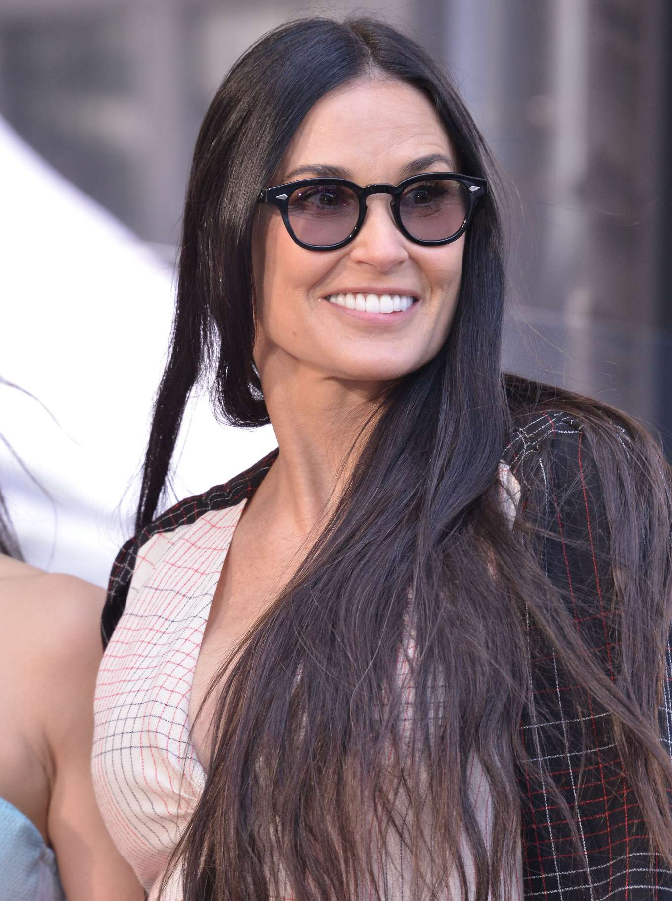 Demi Moore - Lucy Liu Hollywood Walk of Fame Ceremony in Hollywood