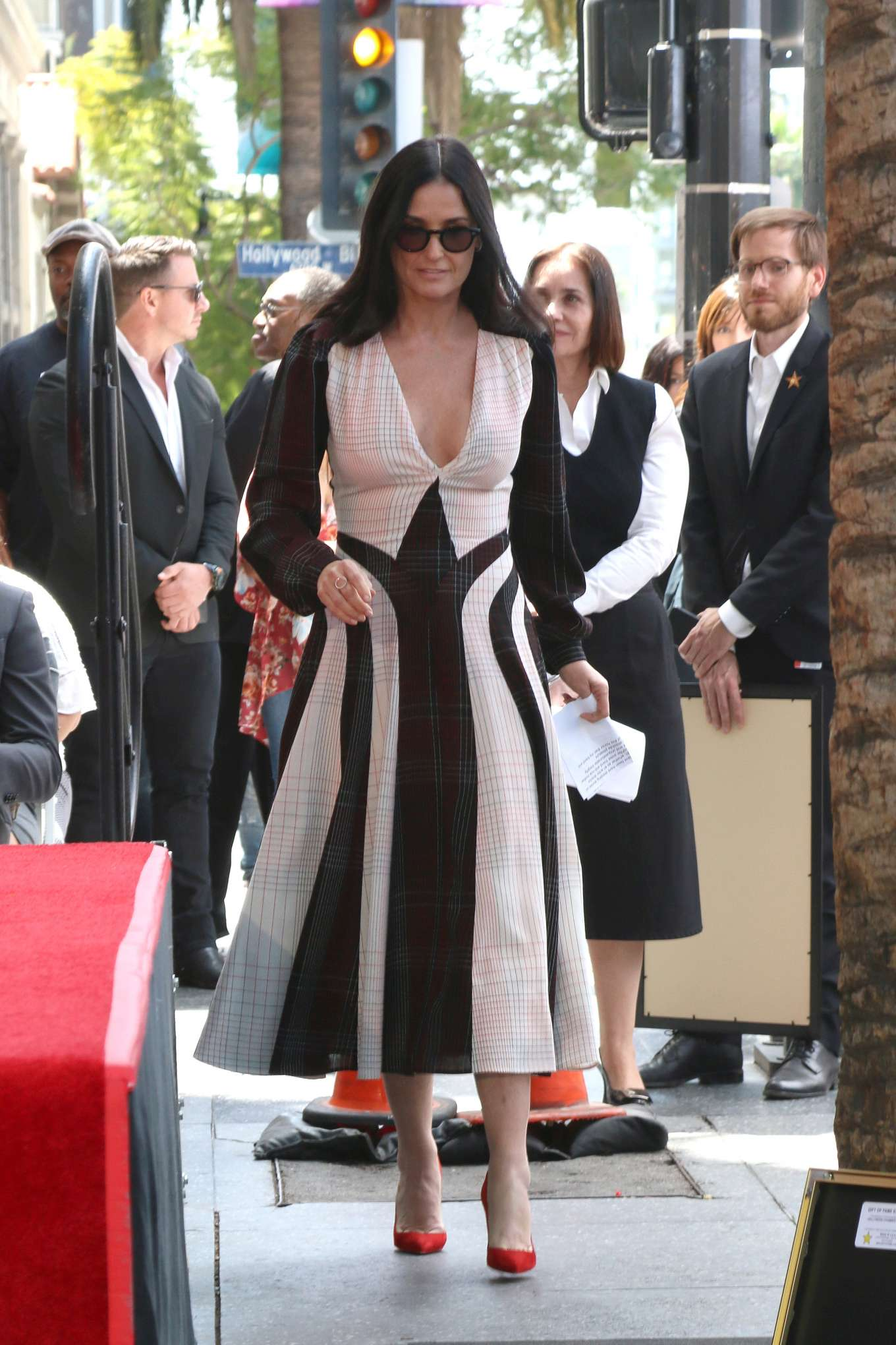 Demi Moore 2019 : Demi Moore: Lucy Liu Hollywood Walk of Fame Ceremony in Hollywood-05