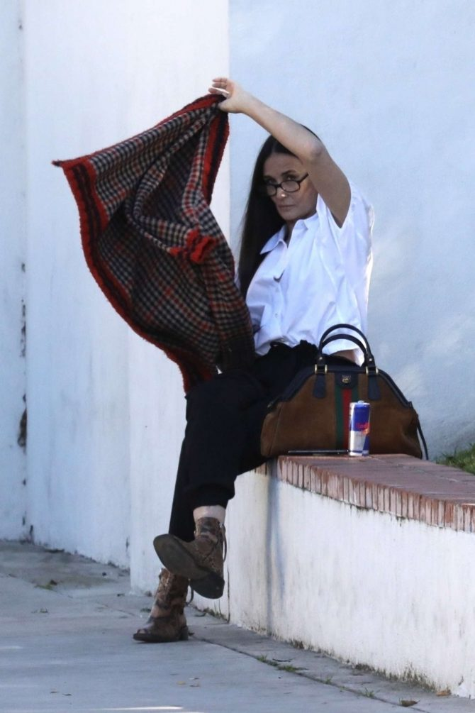 Demi Moore: Out in Los Angeles -04