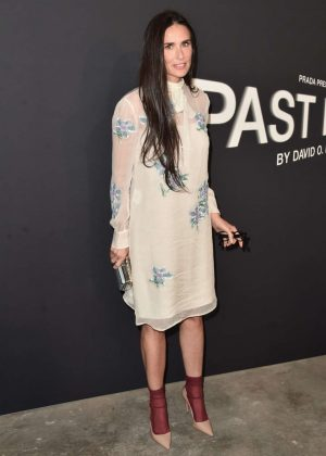 Demi Moore - Prada Presents Past Forward Short Film By David O. Russell in LA