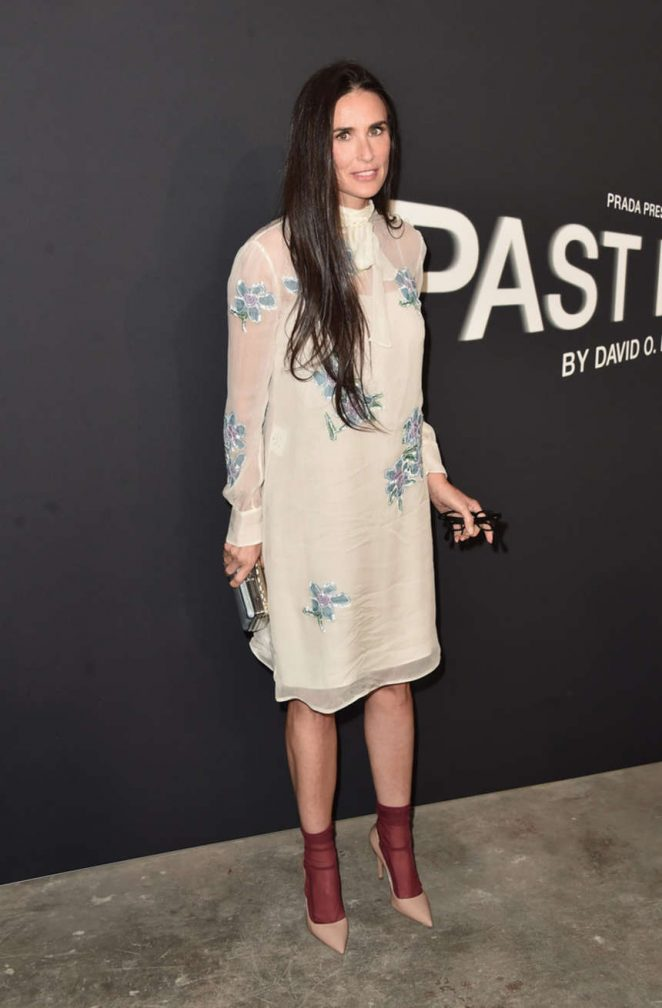 Demi Moore - Prada Presents Past Forward Short Film By David O. Russell in LA